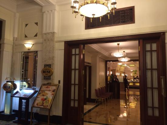 オークラ ガーデンホテル上海(花園飯店上海), 歴史的建築物内のレストラン