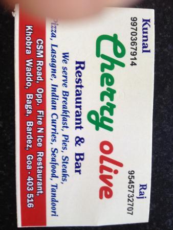 Cherry Olive: address