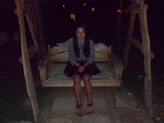 Gardenia Plaza Resort: relax on the swing chair