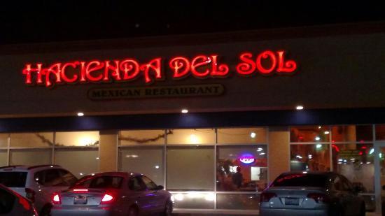 Hacienda Del Sol: Good Mexican food