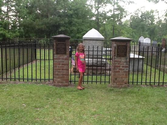 Santee, Carolina del Sur: Gravesite of the
