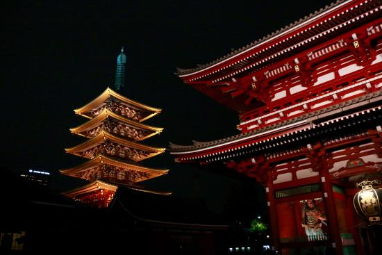 Asakusa at night - Picture of Asakusa, Taito - TripAdvisor