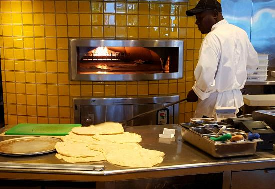 Pizza oven - Picture of California Pizza Kitchen, Fort Lauderdale ...