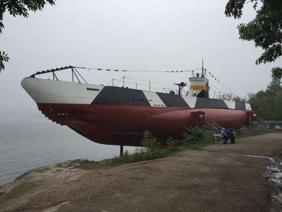 Submarine Vesikko (Sukellusvene Vesikko): 外観