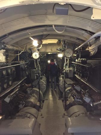 Submarine Vesikko (Sukellusvene Vesikko): 内部