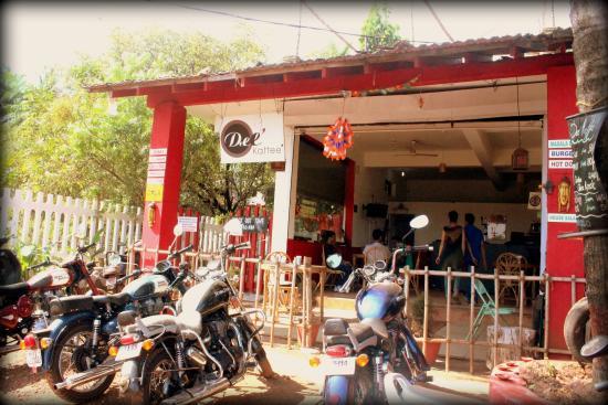 Anjuna, Indien: Enterance