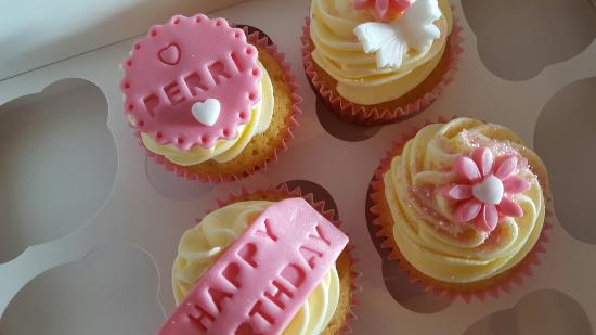 Kinghorn, UK: some examples of our work at Nicola's Cupcake Cafe