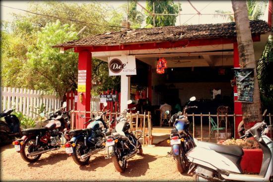 Anjuna, Indien: The Front View