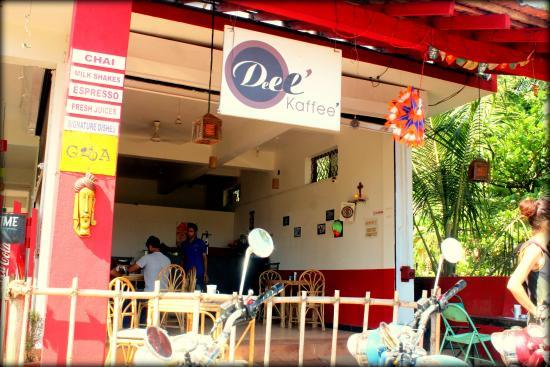 Anjuna, Indien: Deee Kaffee