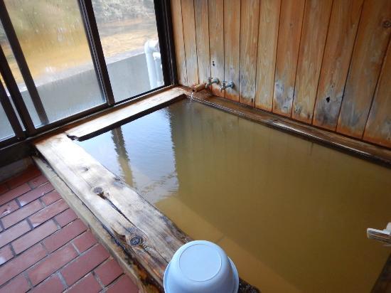 Mitsui : 内湯は体育座りをしても3人が限度