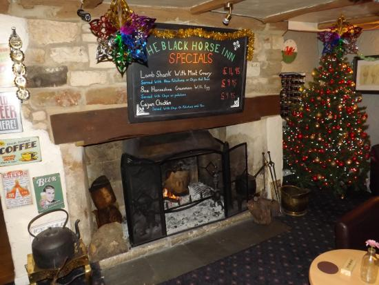 The Black Horse Inn: Specials Board at the Black Horse