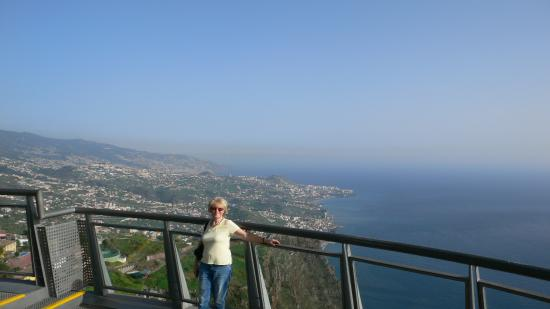 Cabo Girao: View East over Funchal