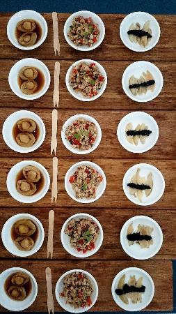 Hermanus, Sudafrica: The tasting tray