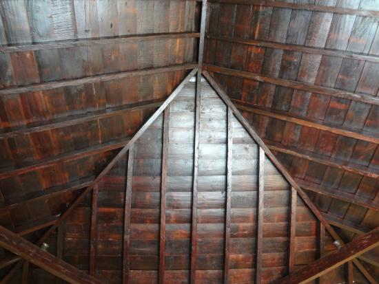 Hotel Rural Casablanca: Inside of the room, the wonderful roof
