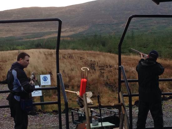 QCs Clay Pigeon Shooting