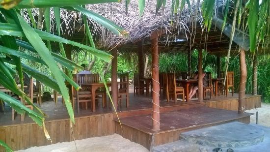 Jungle Beach Restaurant Watersport Ahungalla View To Hut
