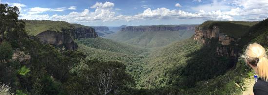Blackheath, Australia: looking back towards sydney