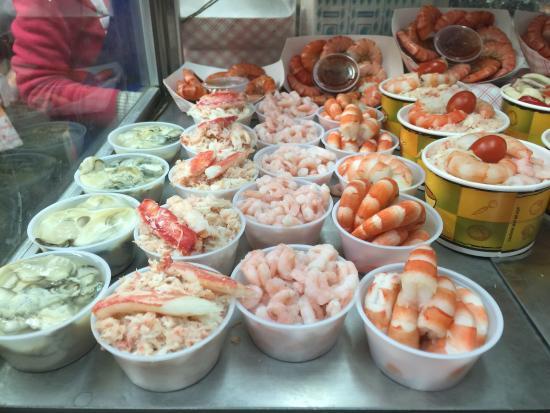 Crab Station At Fishermans Wharf San Francisco