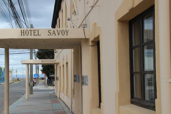 Hotel Savoy Punta Arenas Entrance