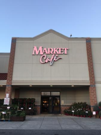 Wegmans Market Cafe: 買い物ついでに立ち寄れる
