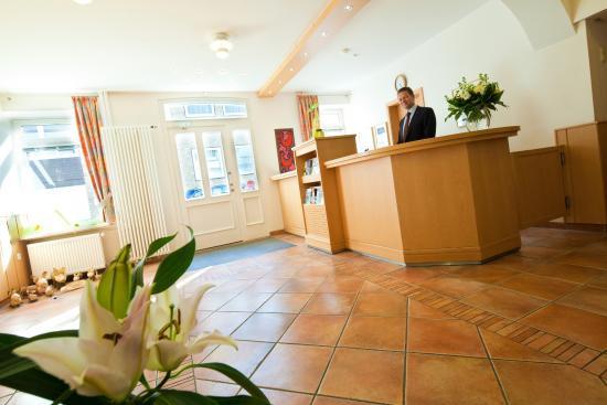 Hotel Rieckmanns Gasthof: Rezeption