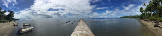 Pulau Una Una, Indonesia: jetty