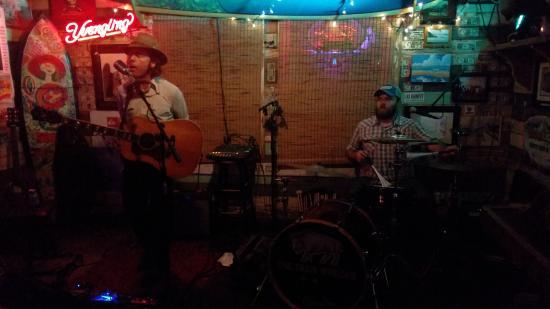 Great band at Surf Bar
