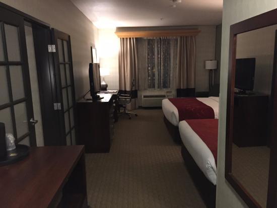 Comfort Suites Airport Tukwila: main room