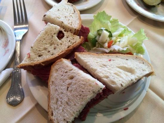 B K Salt Beef Bar The Magnificent Salt Beef Sandwich On