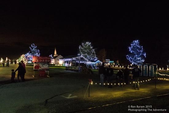 denton farm park village 1 - Christmas Train Denton Nc