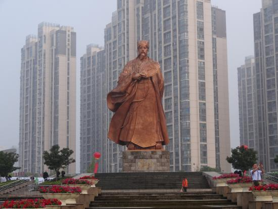 Zhuge Liang Square: 銅像2