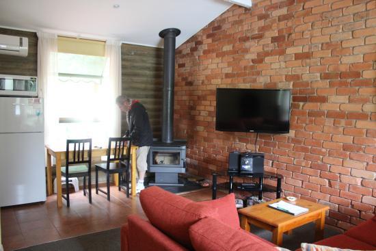 Dunkeld, Australië: le living room et le coin repas