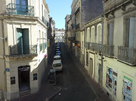 Hotel de Paris: Вид из номера