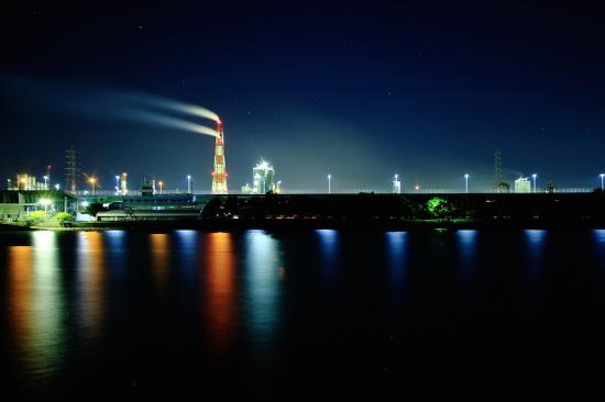 Hamadera Park : 工場夜景