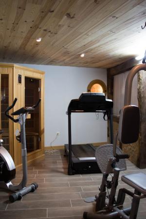Maison Sauna salle de sport et sauna - picture of la maison rouzies, la bastide-l