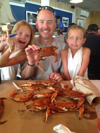 Kentmorr Restaurant and Crab House: crab feast