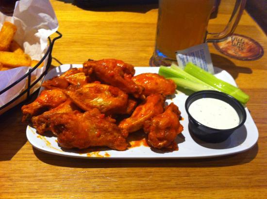 Chicken Wings Picture Of Twin Peaks Restaurants Little