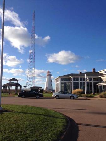 Tignish, Kanada: 北端の灯台、風が強いです