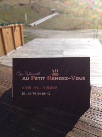 Au Petit Rendez Vous Carte De Visite