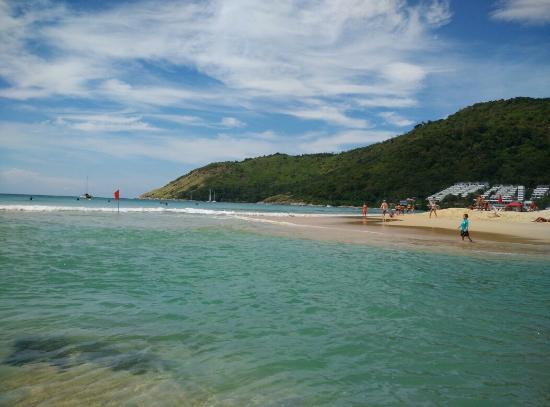 Nai Harn Beach South Of Suitable For Kids Looks Like A Swim