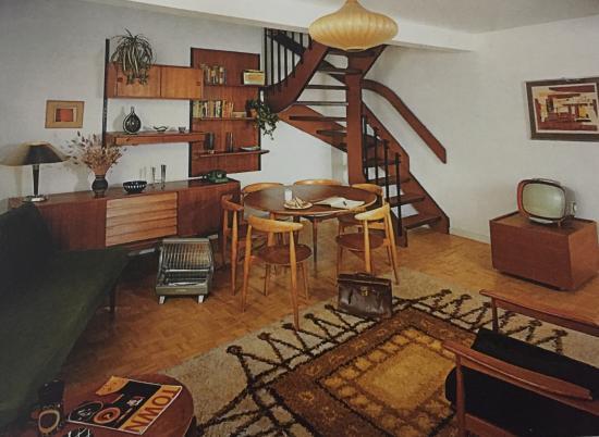 Geffrye Museum, Wohnzimmer der 60er Jahre - Bild von Geffrye Museum ...