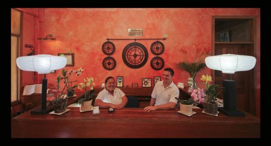 Hotel Paraiso Carlisa: recepcion