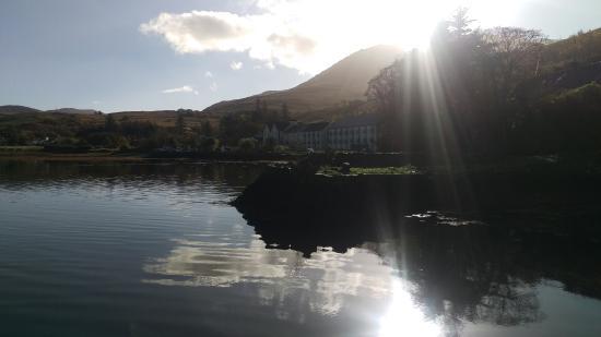 Leenane Hotel: Magical setting