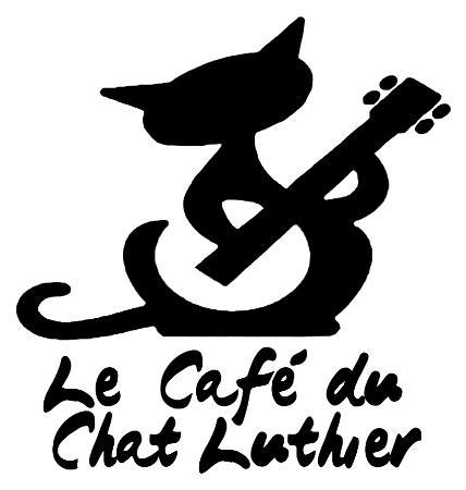 Saint-Pierre: Logo - Le Café du Chat Luthier