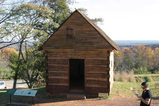 Charlottesville, Βιρτζίνια: Slave Cabin