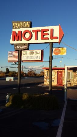 Boron Motel: le motel