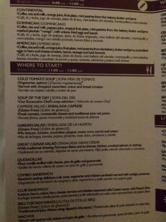 Image Result For Excellence Punta Cana Room Service Menu