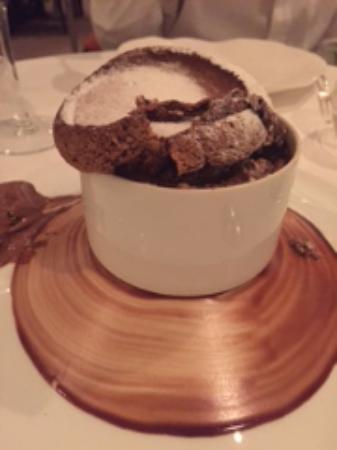 Saint-Etienne-au-Mont, Francia: Best Chocolate Souffle Ever