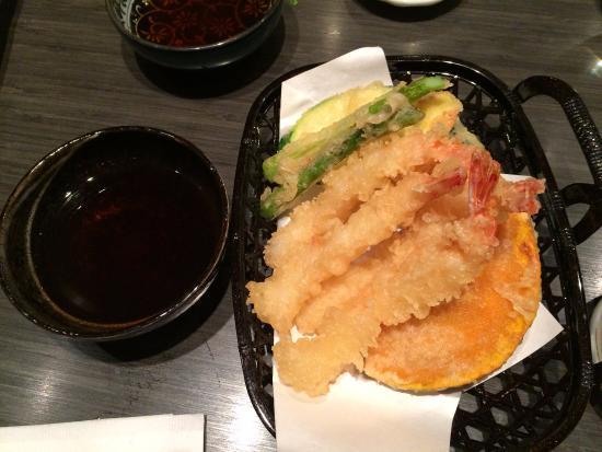 assorted tempura picture of roku japanese restaurant calgary tripadvisor. Black Bedroom Furniture Sets. Home Design Ideas