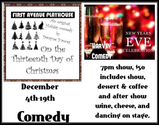 Atlantic Highlands, NJ: Two Comedies Reserve Now! 732-291-7552